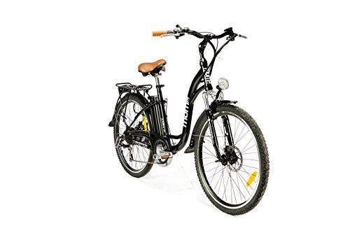 "Moma Bikes, Bicicleta Electrica Urbana EBIKE-26 """