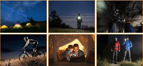Luces para rutas nocturnas